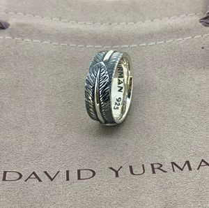 David Yurman Southwest Feather Band